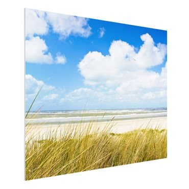 Quadro in forex - On the North Sea coast - Orizzontale 4:3