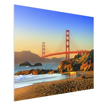 Quadro in forex - Baker Beach - Orizzontale 4:3