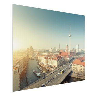 Quadro in forex - Berlin morning - Orizzontale 4:3