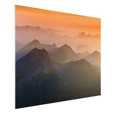 Quadro in forex - View Of The Zugspitze - Orizzontale 4:3