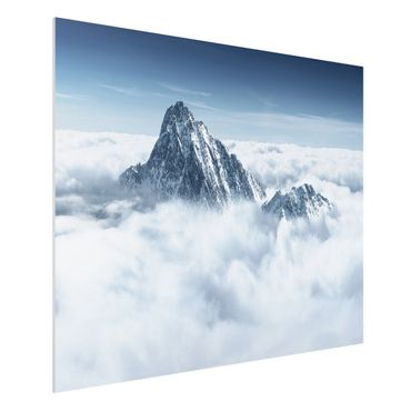 Quadro in forex - The Alps Above The Clouds - Orizzontale 4:3