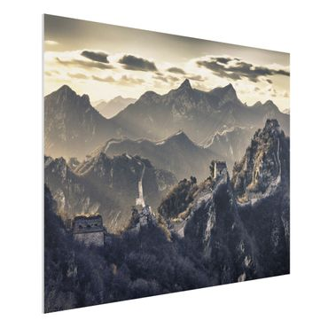 Quadro in forex - The Great Chinese Wall - Orizzontale 4:3
