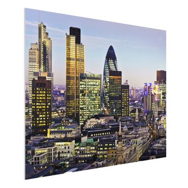 Quadro in forex - London City - Orizzontale 4:3