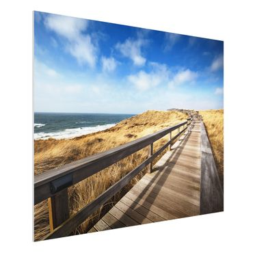 Quadro in forex - North Sea Promenade - Orizzontale 4:3