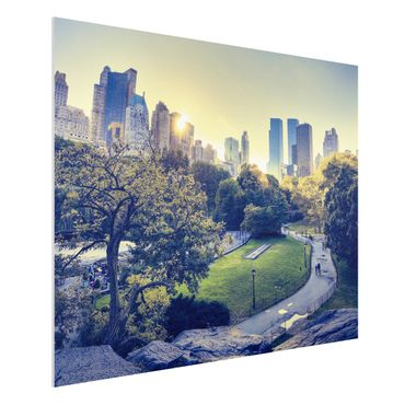 Quadro in forex - Peaceful Central Park - Orizzontale 4:3