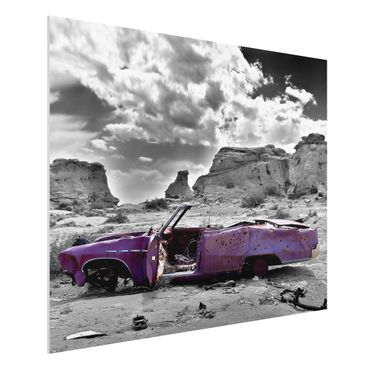 Quadro in forex - Pink Cadillac - Orizzontale 4:3