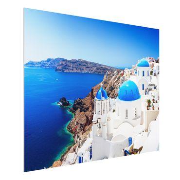 Quadro in forex - View Over Santorini - Orizzontale 4:3