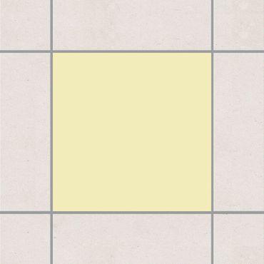 Adesivo per piastrelle - Colour Crème 15cm x 15cm