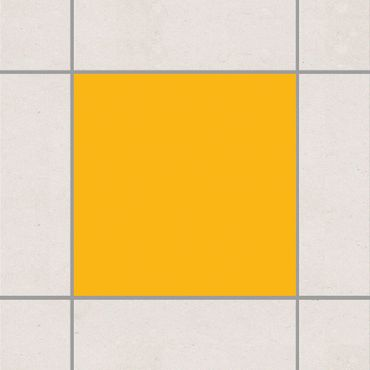 Adesivo per piastrelle - Colour Melon Yellow 25cm x 20cm