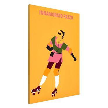 Lavagna magnetica - Film Poster Innamorato Pazzo - Formato verticale 2:3