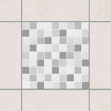 Adesivo per piastrelle - Mosaic Tiles Winter Set 25cm x 20cm
