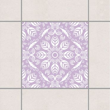 Adesivo per piastrelle - Rosamunde Lavender 15cm x 15cm