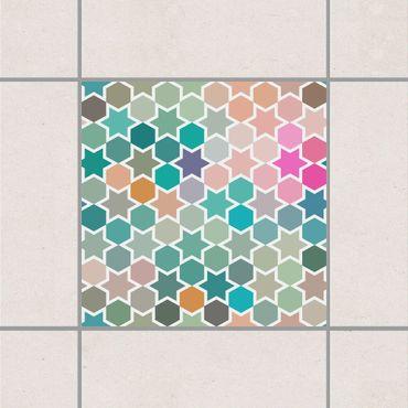 Adesivo per piastrelle - Star Window Baghdad 15cm x 15cm