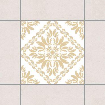 Adesivo per piastrelle - Vera Rosa White Light Grey 25cm x 20cm