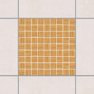 Adesivo per piastrelle - Mosaic Tiles Imitation wood white fir 15cm x 15cm
