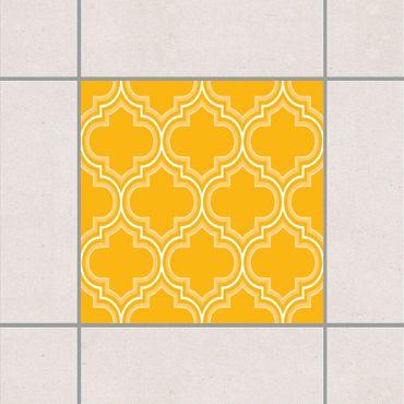 Adesivo per piastrelle - Retro Morocco Melon Yellow 25cm x 20cm