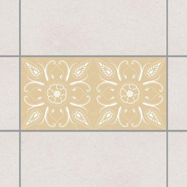 Adesivo per piastrelle - Bandana Light Brown 30cm x 60cm