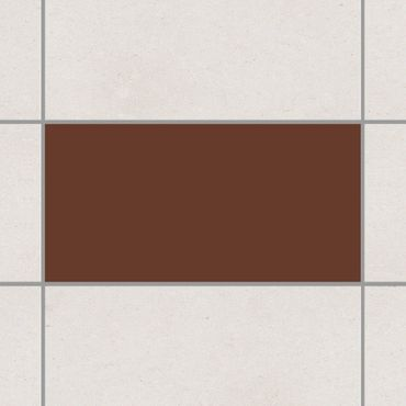 Adesivo per piastrelle - Colour Carmin 25cm x 20cm