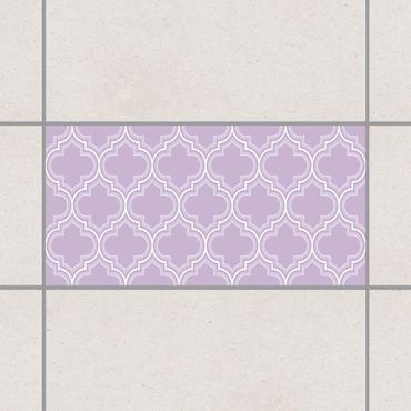 Adesivo per piastrelle - Retro Lavender Morocco 25cm x 20cm
