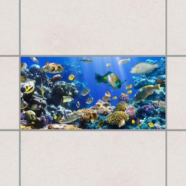 Adesivo per piastrelle - Underwater Reef 30cm x 60cm