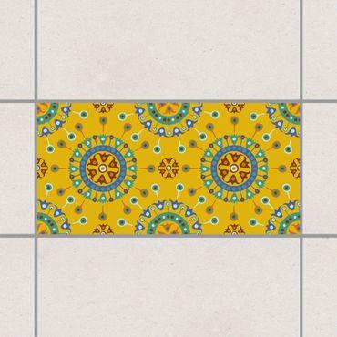 Adesivo per piastrelle - Wayuu Design 10cm x 10cm