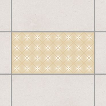 Adesivo per piastrelle - Tender Vintage Caro Light Brown 10cm x 10cm