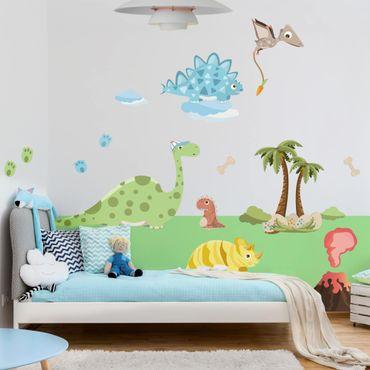 Adesivo murale - Dinosaur Set