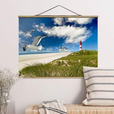 Foto su tessuto da parete con bastone - Dune Breeze - Orizzontale 3:4