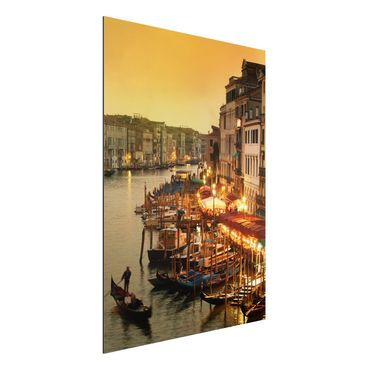Quadro in alluminio - Grand Canal of Venice