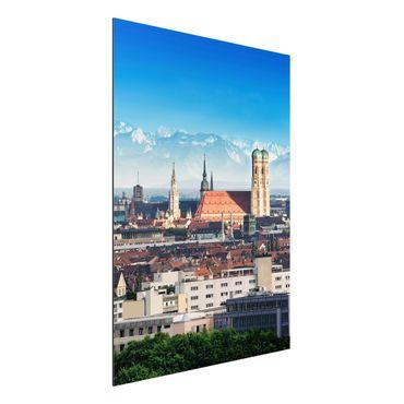 Quadro in alluminio - Munich
