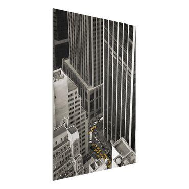 Quadro in alluminio - NYC 5pm