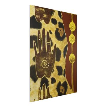 Quadro in alluminio - Touch of Africa