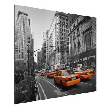 Quadro in alluminio - New York, New York!
