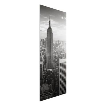 Quadro in alluminio - Manhattan Skyline
