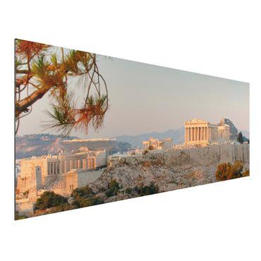 Quadro in alluminio - Acropolis