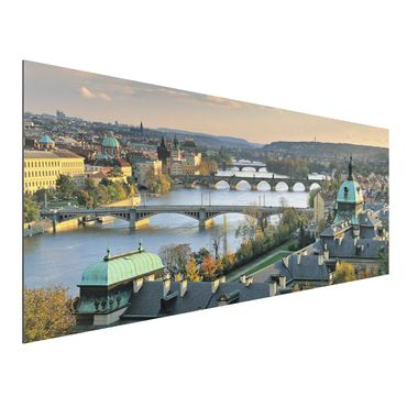 Quadro in alluminio - Prague