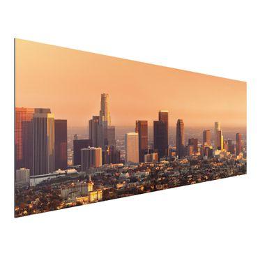 Quadro in alluminio - Skyline of Los Angeles