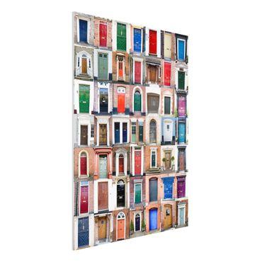 Quadro in forex - 100 Doors - Verticale 3:4