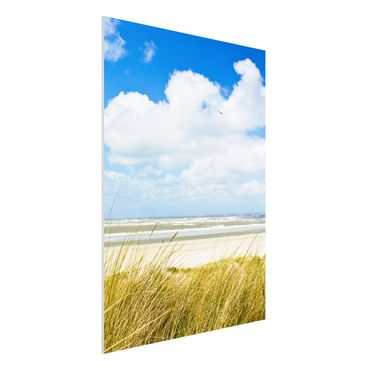 Quadro in forex - On the North Sea coast - Verticale 3:4