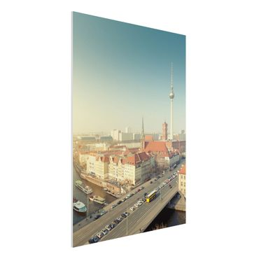 Quadro in forex - Berlin Morning - Verticale 3:4