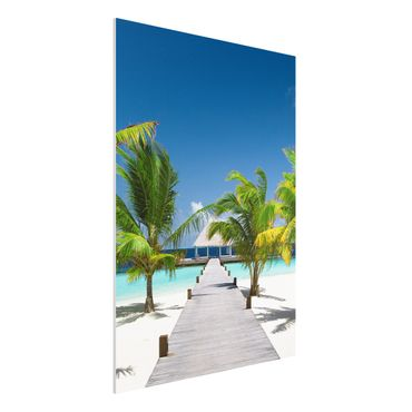 Quadro in forex - Catwalk to Paradise - Verticale 3:4