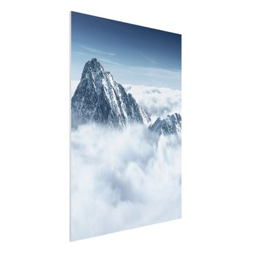Quadro in forex - The Alps Above The Clouds - Verticale 3:4