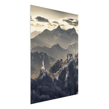 Quadro in forex - The Great Chinese Wall - Verticale 3:4