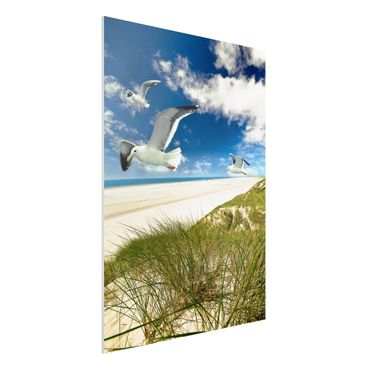Quadro in forex - Dune Breeze - Verticale 3:4