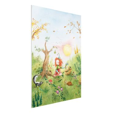 Quadro in forex - Frida collected herbs - Verticale 3:4