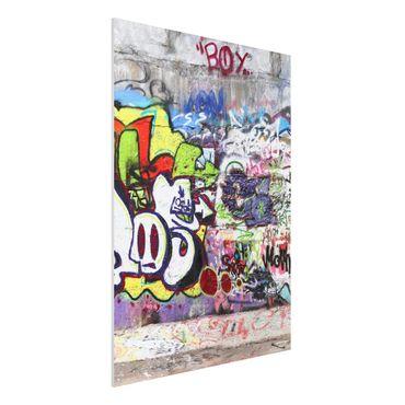 Quadro in forex - Graffiti - Verticale 3:4