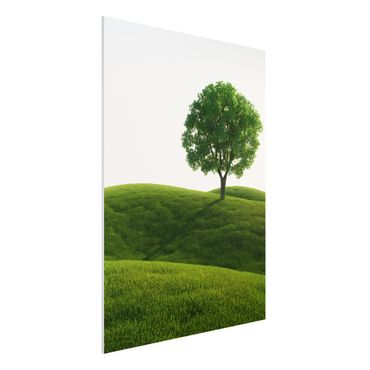 Quadro in forex - Green peace - Verticale 3:4