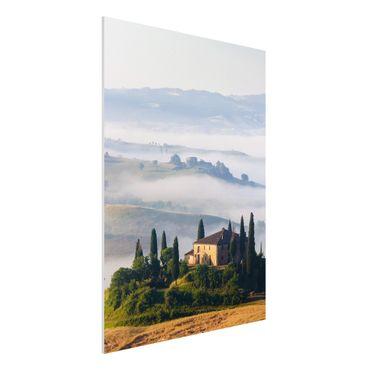 Quadro in forex - Estate in Tuscany - Verticale 3:4