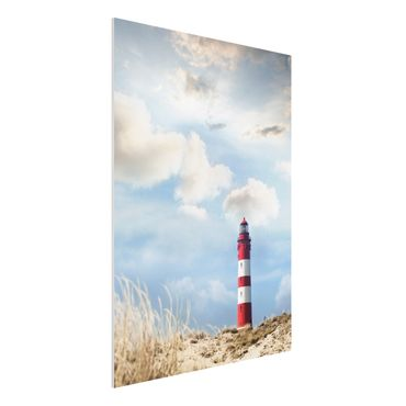Quadro in forex - Lighthouse in the dunes - Verticale 3:4