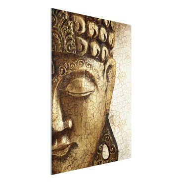 Quadro in forex - Vintage Buddha - Verticale 3:4